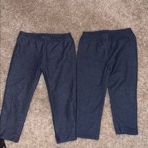 Two pairs of Carters Jeggings